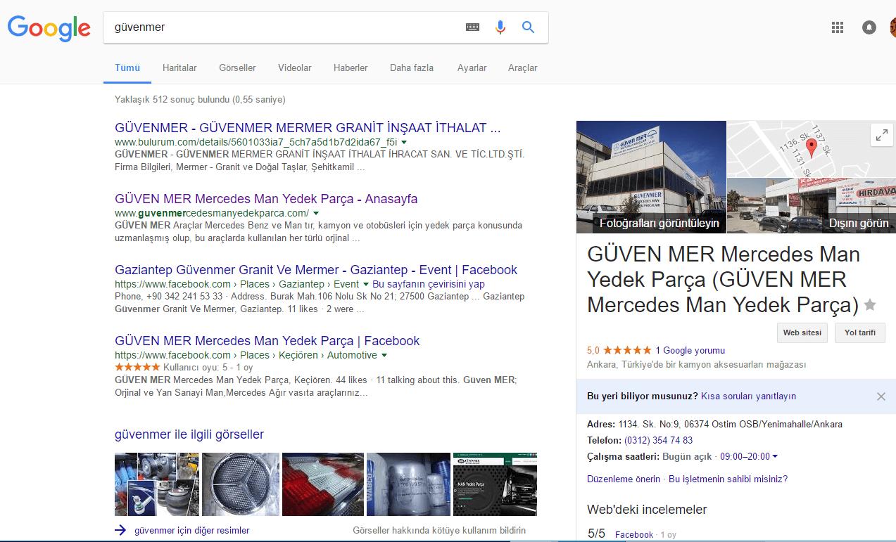 Profesyonel kalite ile Google da çıkmanızı sağlıyoruz.